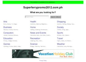 superferrypromo2012.com.ph
