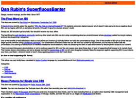 superfluousbanter.org
