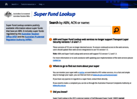 superfundlookup.gov.au