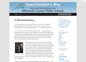 superintendent.k12albemarle.org