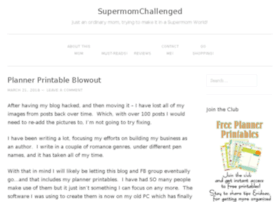 supermomchallenged.com
