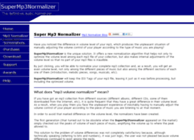 supermp3normalizer.com