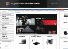 supernotebook.hu