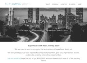 supernovasouth.org