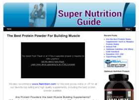 supernutritionguide.com