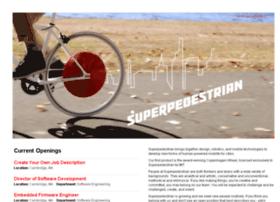 superpedestrian.theresumator.com