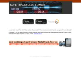 superradiodeuseamor.com.br