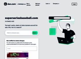 superseriesbaseball.com