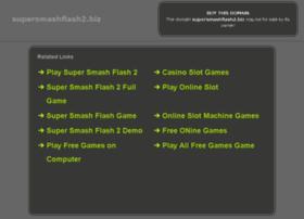 Super smash flash 2 super smash flash free games at