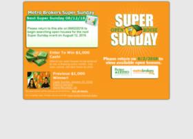 supersunday.metrobrokers.com