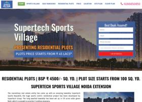 supertechsportsvillage.org.in