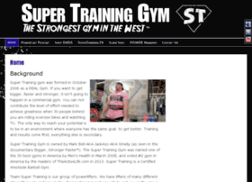 supertraininggym.com