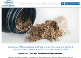 supplementmanufacturersaustralia.com.au