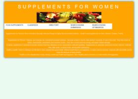 supplementsforwomen.org