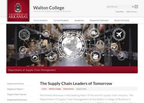 supplychain.uark.edu