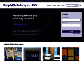 supplychainanalysis.igd.com