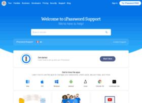 support.1password.com