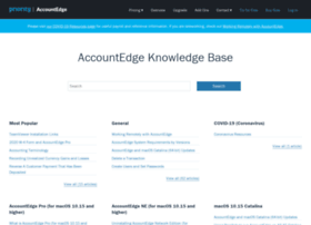 support.accountedge.com
