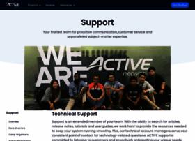 support.activenetwork.com