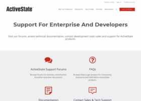 support.activestate.com