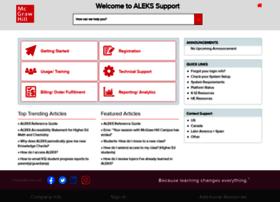support.aleks.com