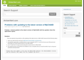 support.amberalert.com
