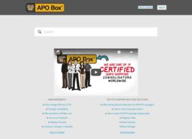 support.apobox.com