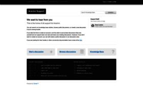 support.arachni-scanner.com