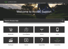 support.arccosgolf.com