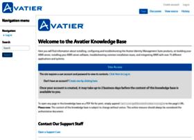 support.avatier.com