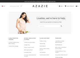 support.azazie.com