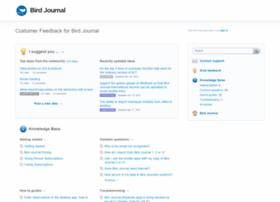 support.birdjournal.com