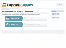 support.blogtronix.com