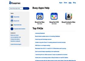 support.busymac.com