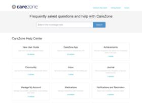 support.carezone.com