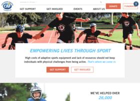 support.challengedathletes.org