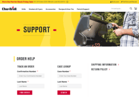 support.charbroil.com