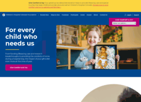 support.childrenscoloradofoundation.org