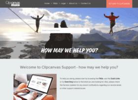 Support.clipcanvas.com