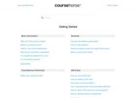 support.coursehorse.com