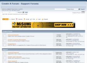 support.createaforum.com