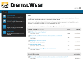 support.digitalwest.net