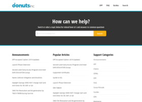 support.donuts.co