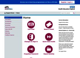 support.e-lfh.org.uk