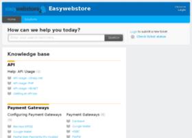 support.easywebstore.net