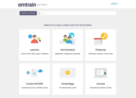 support.emtrain.com