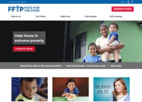 support.foodforthepoor.org