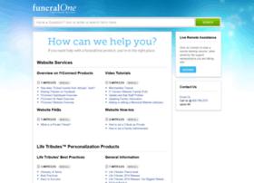 support.funeralone.com