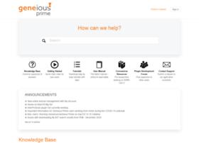 support.geneious.com