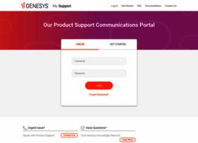 support.genesyslab.com